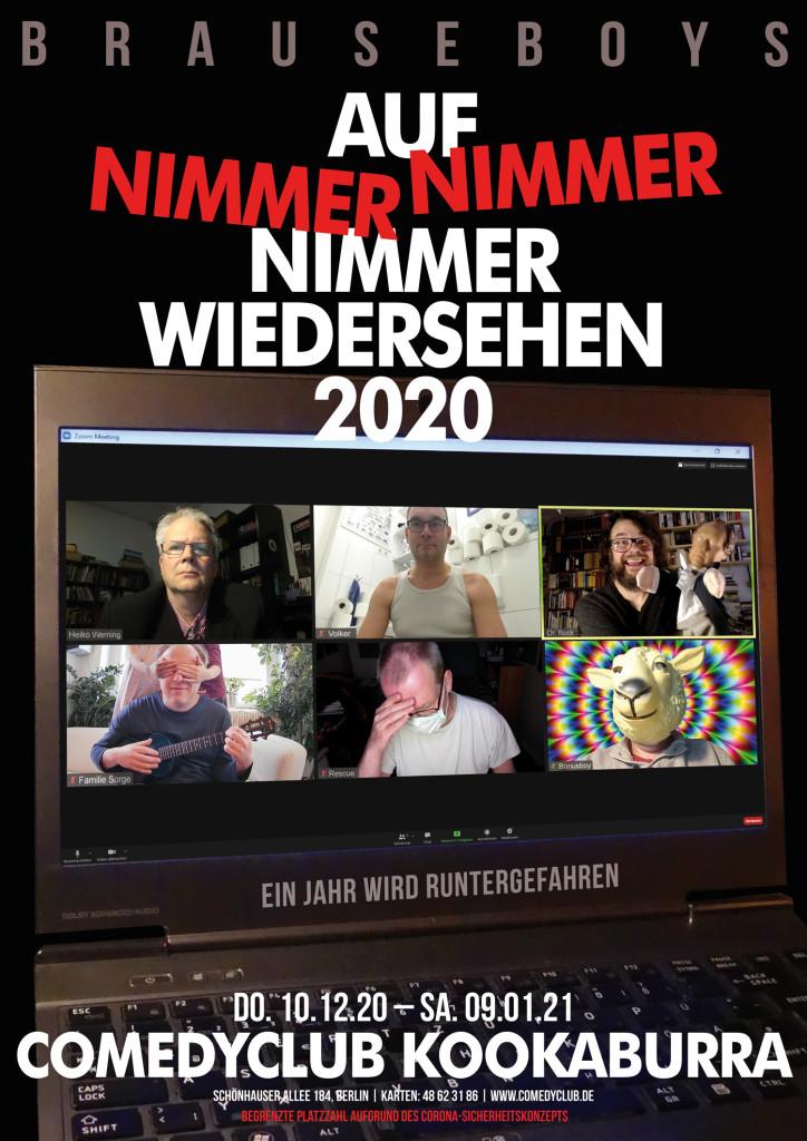 Brauseboys Auf Nimmerwiedersehen 2020